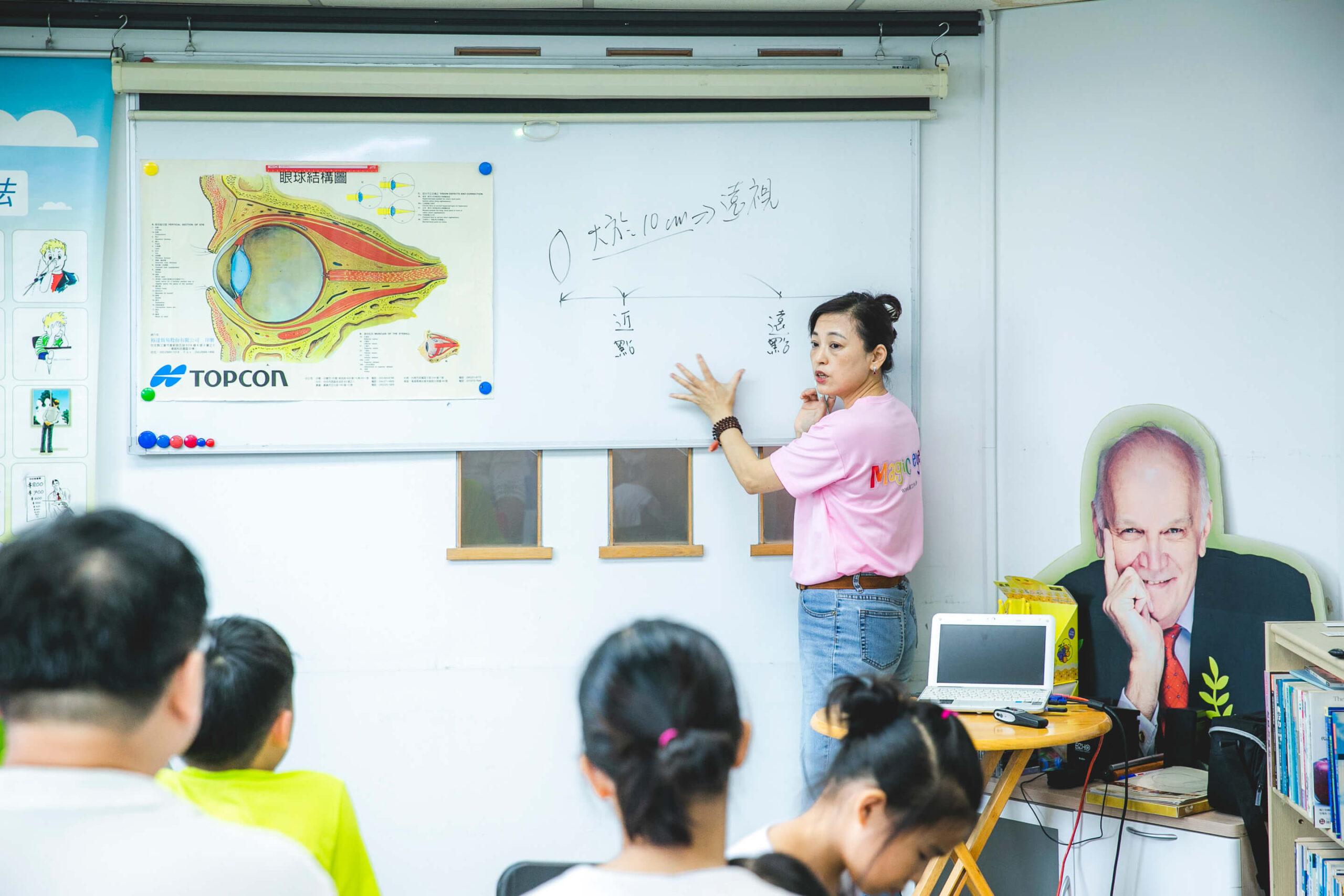 關於視力保健訓練課程的說明?